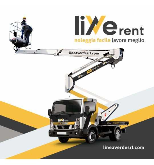 LiveRent NISSAN CABSTAR Piattaforma Autocarrata