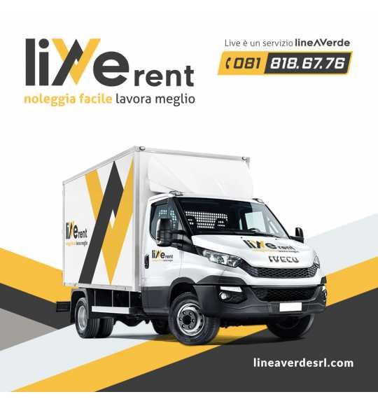LiveRent IVECO Furgone 35 quintali