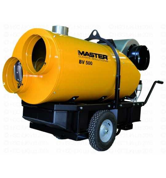 movimento-terra MASTER Generatore d'aria calda a gasolio MASTER BV 500 13CR 150 Kw a riscaldamento indiretto