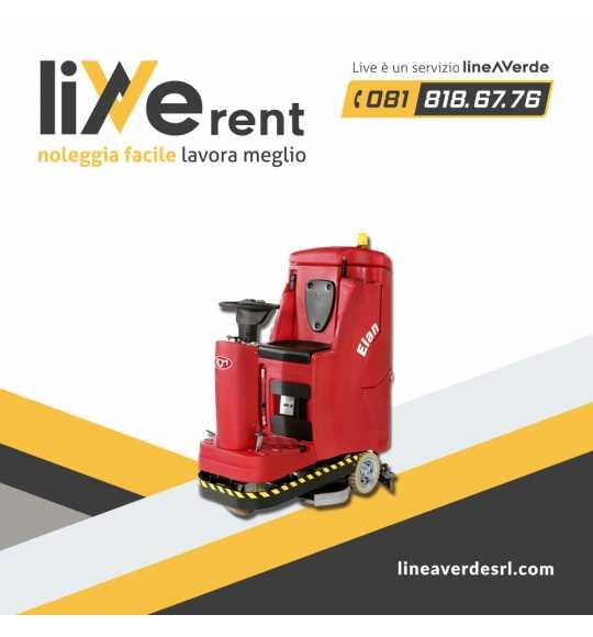 LiveRent RCM -lavasciuga- Lavasciuga lavapavimenti elettrica