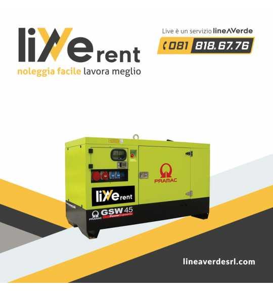 LiveRent PRAMAC Generatore di corrente trifase
