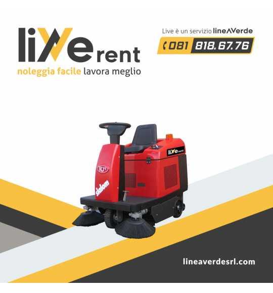 LiveRent RCM -spazzatrici- Spazzatrice elettrica