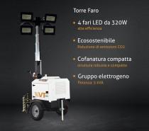 Torre Faro generatore trasportabile Led
