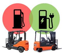 Carrelli Elevatori Elettrici Doosan: Risparmio fino al 75%!