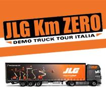 JLG Demo Truck  - 1° volta in ITALIA -